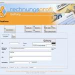Rechnungsprofi Software für Quittungen Quittungssoftware