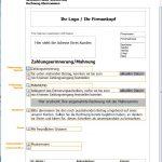 Zahlungserinnerung Vorlage, Muster, Standarderinnerung,