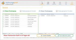 Posteingangsbuch & Postausgangsbuch mit der Software Rechnungsprofi Postbuch Plus führen
