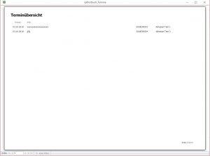 Erinnerungen, Termine Wiedervorlagen im der Postbbuchsoftware Rechnungsprofi Postbuch Plus